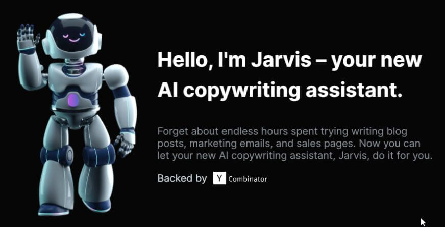 Jarvis intro image - ai content marketing article